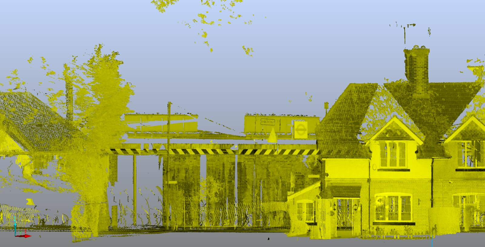 point cloud in vr for construction project