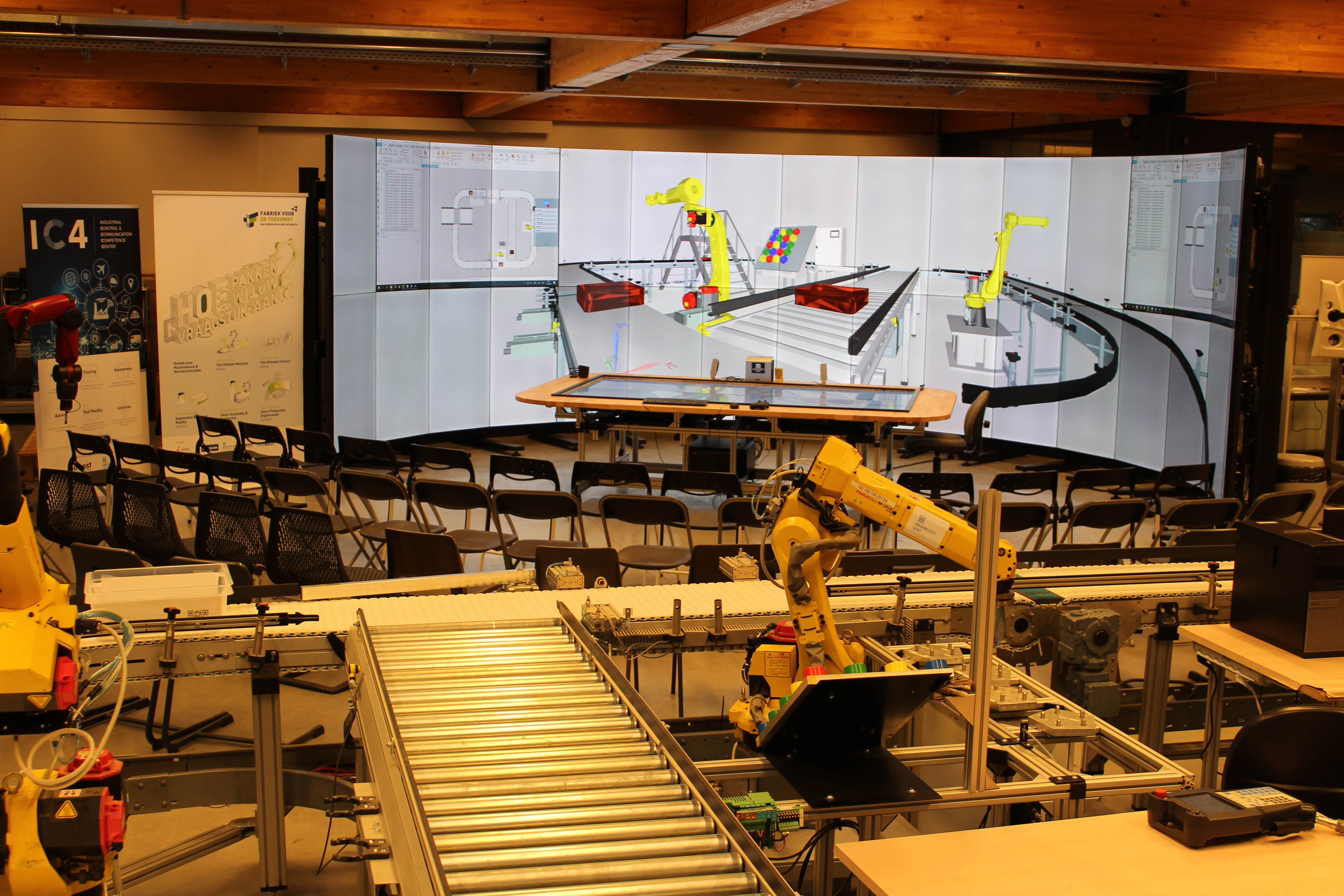 The Digital Twin in VR at Ghent University