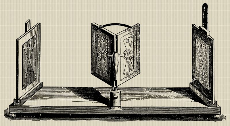 Origins of VR; history of VR; stereoscope; HMD ancestor