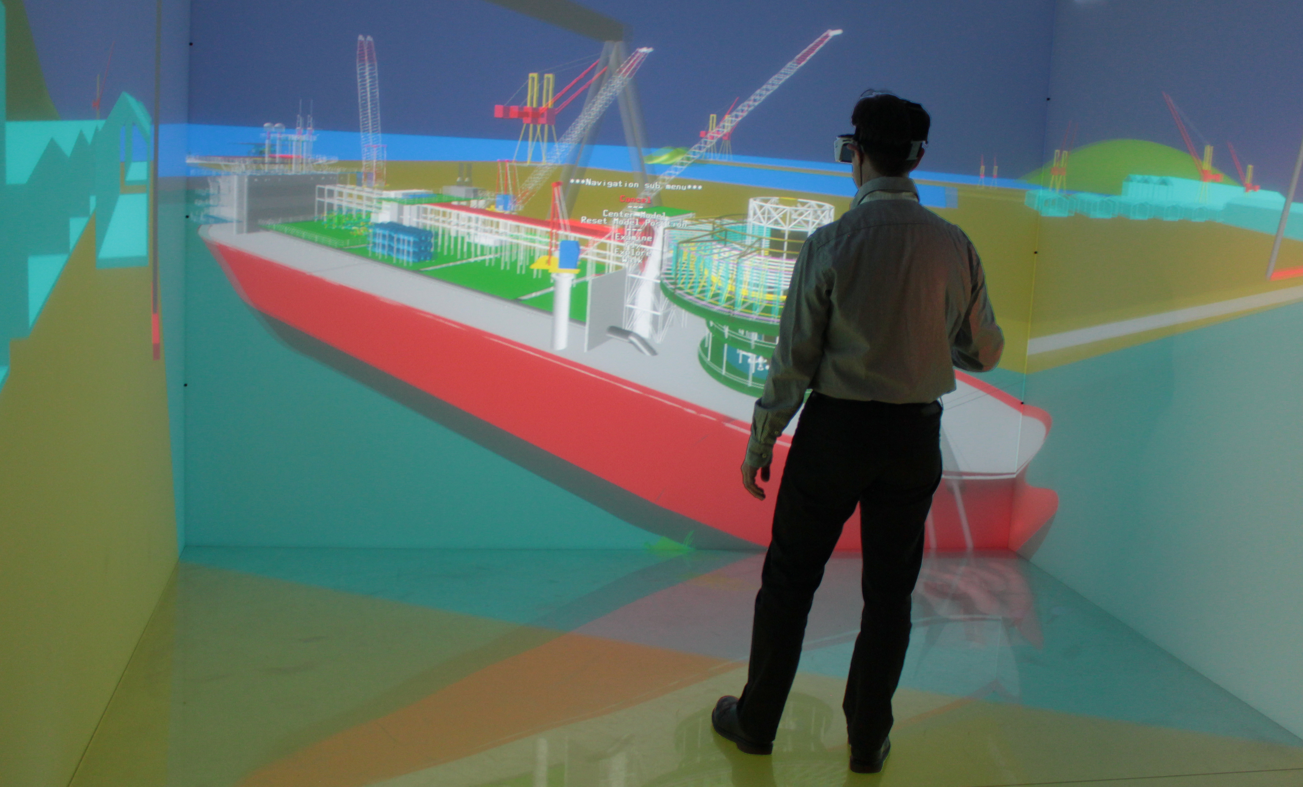TechViz VR software optimizing the processes of the shipbuilding industry