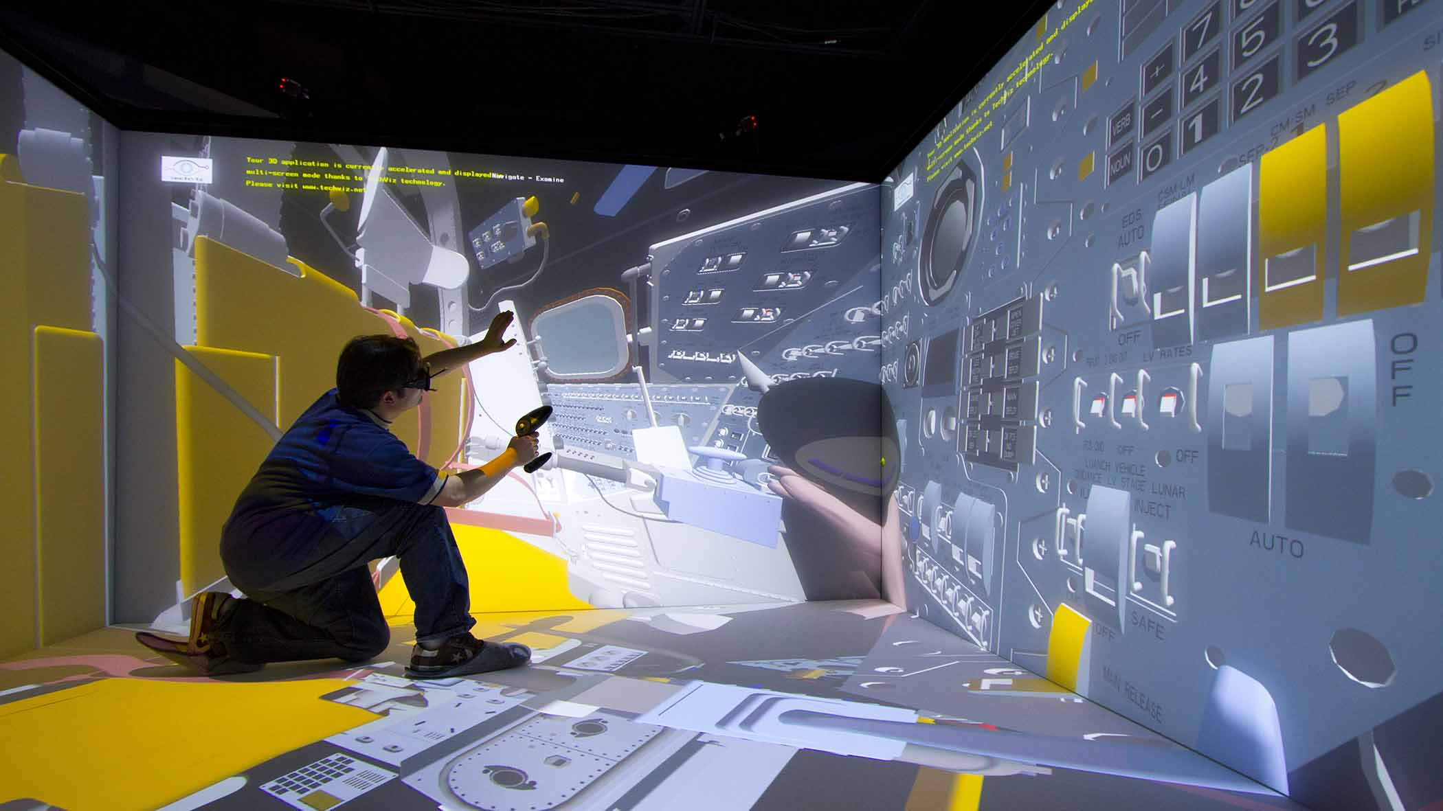 TechViz user - Immersive Room